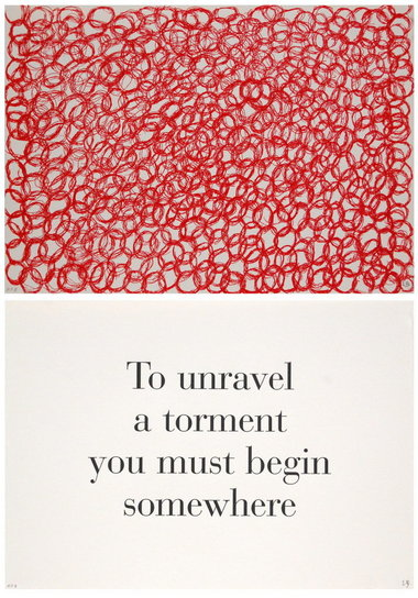 Louise Bourgeois, What is the Shape of this Problem (1999)