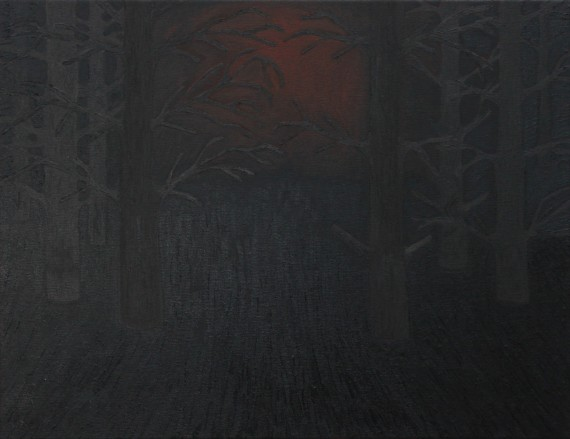 Alex Gene Morrison 'Forest (with inverted symbols)', 2014