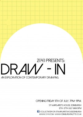 Draw In exhibition