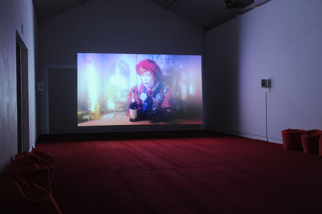 Rachel Maclean, Happy & Glorious, 2014, installation view, CCA, Glasgow. Photo: Alan Dimmick
