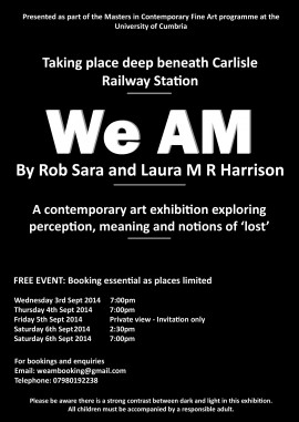 We AM poster Final Web