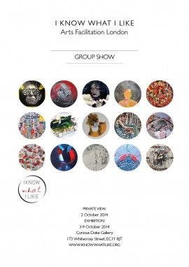 IKWIL group show flyer