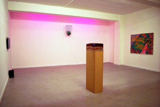 Works by Natasha Ferguson, Joe Harvey, Matt Bainbridge and Richard Krantz.