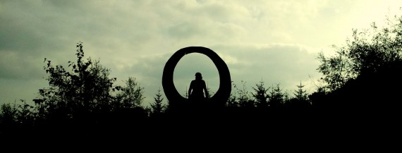 a sculpture at grizedale