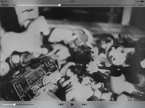 Screenshot from Billy Wilder: The Death Mills, 7 min 35 sec in