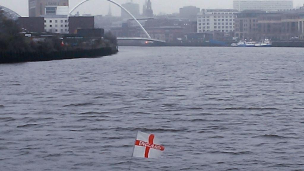 flag on the Tyne is all mine