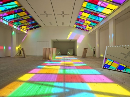 Daniel Buren, Catch as Catch, 2014