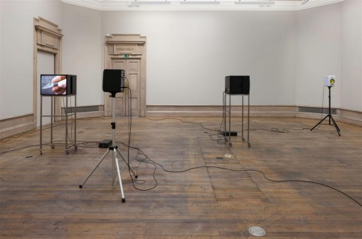 Charlotte Prodger, installation view, Glasgow International 2014. Photo: Ruth Clarke