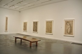 Louise Bourgeois : Works on paper, installation view