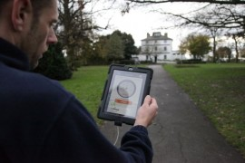 Mapping the wi-fi coverage at Chalkwell Park, Southend-on-Sea, site of Metal's NetPark
