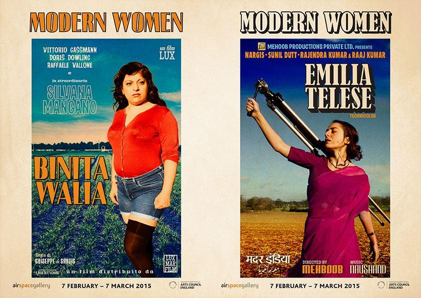 Binita Walia and Emilia Telese, Modern Women Poster