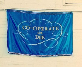 Tatiana Baskakova, Co-operate or Die, 2014. Photo: Tristan Lathey