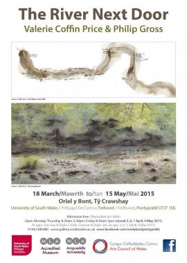 River Next Door exhibition poster