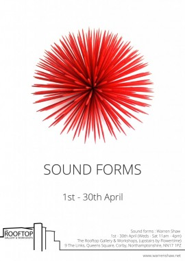 Sound forms poster warren shaw
