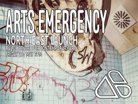 Arts Emergency North East Launch