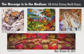 Silk painters exhibition in tampa florida
