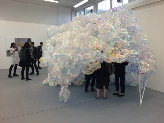 Nancy Huang's installation at the Slade School of Art