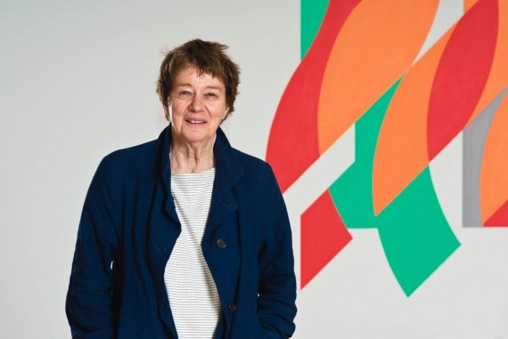 Bridget Riley, 2012. Photo: Christian Wickler