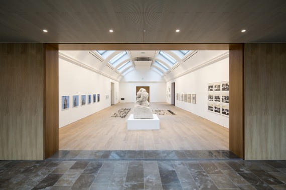 Central exhibition gallery, The Whitworth Art Gallery, Cornelia Parker exhibition. Photo: David Levene