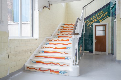 Nicolas Party, Carrot Stairs, permanent commission, 2014. Image courtesy David Dale Gallery, photographer Max Slaven