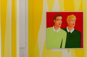 Nicolas Party, Boys and Pastel exhibition, 2015, Inverleith House, Edinburgh