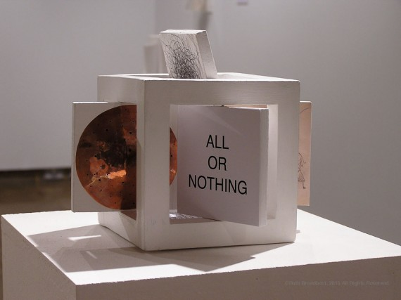Identity Cube (Detail, all or nothing), 2005