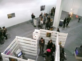 Main gallery at S1 Artspace, Sheffield during an exhibition preview