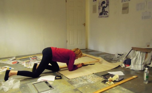 kirsty harris, experimental studio residency, newcastle