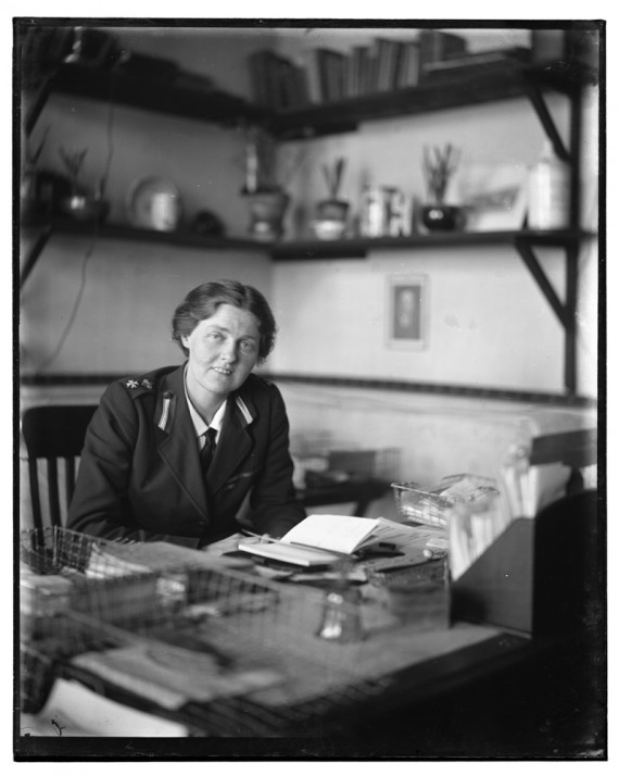 Olive Edis, Rachel Crowdy. Courtesy: Norfolk Museums Service