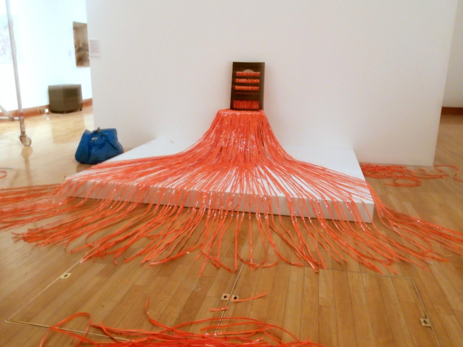 Untitled (Chair & Plastic), 2012. Sikander Pervez. New Art West Midlands 2014