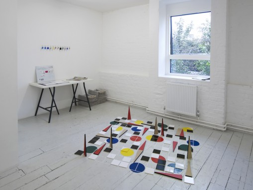 Andrea Canepa, Open Studio, Gasworks, 2015. Residency supported by The Shelagh Wakely Bequest, administered by the Elephant Trust. Courtesy the artist. Photo: Andy Keate