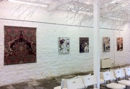 Tangled Yarns exhibition - installation short at Cromford Mills