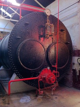 Boiler at Masson MIlls