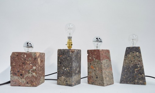 Granby Workshop, Granby Rock Lamps.  www.granbyworkshop.co.uk