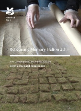 Second National Trust commission, with Belen Cerezo at Belton House, National Trust