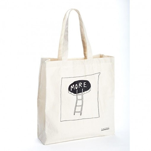 Canvas tote bag designed by Joel Croxson for Gasworks
