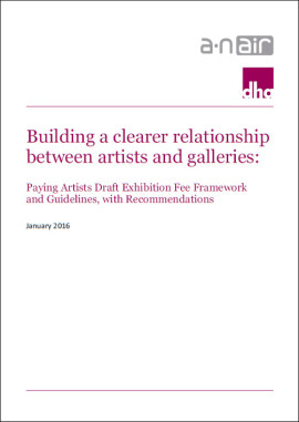 Building a clearer relationship between artists and galleries