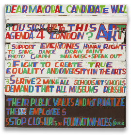 Bob and Roberta Smith, Dear Mayoral Candidate, 2015