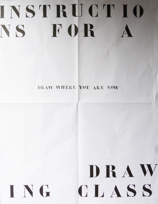 Postal drawing class (with Chloe Briggs) (2009)