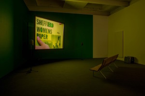 Luke Fowler and Mark Fell, To the Editor of Amateur Photographer, 2014 HD video. Duration: 69 minutes Edition of 5 + 2 AP Installation view, To the Editor of Amateur Photographer, The Modern Institute, Aird's Lane, Glasgow, 2015 Courtesy of the artist and The Modern Institute/Toby Webster Ltd, Glasgow Photography: Max Slaven