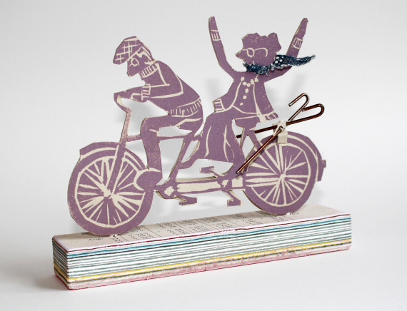 Never too old to tandem, Lucy Roscoe, The Book Tree Press. http://thebooktreepress.tumblr.com