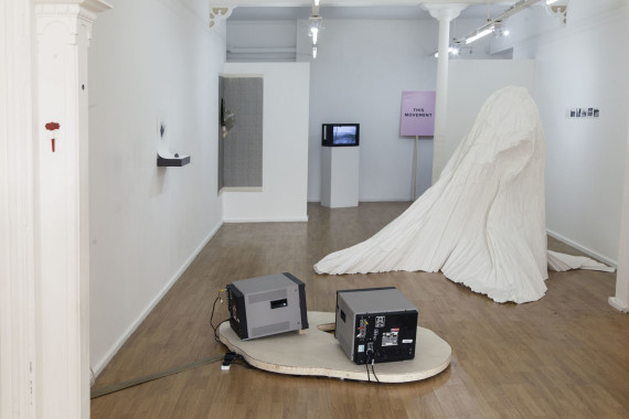 DECAPOD at AirSpace Gallery, Stoke-on-Trent, gallery installation view. photo: Glen Stoker