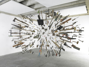 Damián Ortega, Controller of the Universe, 2007. Courtesy: the artist and White Cube, London