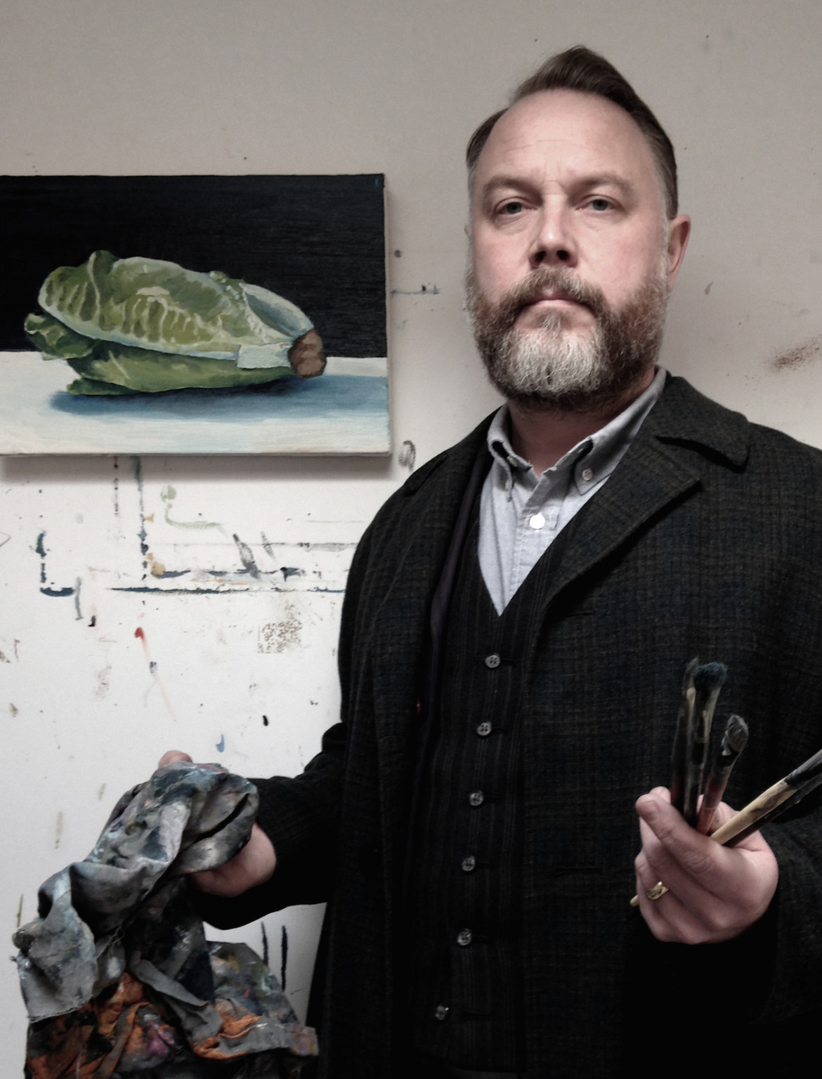 Henry Ward, artist and head of education at the Freelands Foundation
