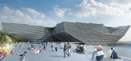 V&A Museum of Design, Dundee, artist's impression
