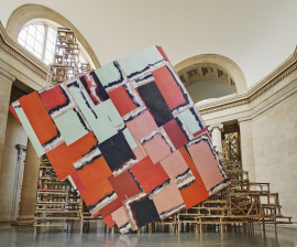 dock, Duveen Commission, Tate Britain, 2014. Photo: Alex Delfanne