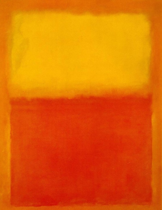 Mark Rothko, abstract expressionist painter