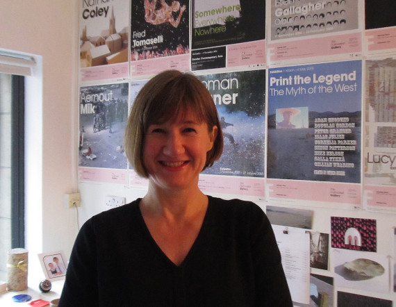 Fiona Bradley, director, Fruitmarket, Edinburgh