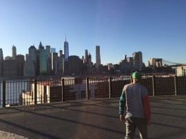 Making a Vine in Brooklyn  A-N Travel Bursary 2016  Credit - Alex Evans
