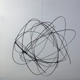 air drawing, wire  2016